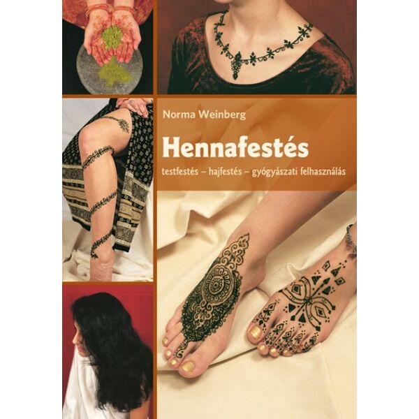 Hennafestés. Testfestés - hajfestés c. könyv