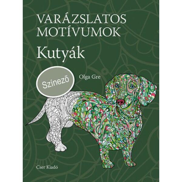Varázslatos motívumok - Színező - Kutyák c. könyv