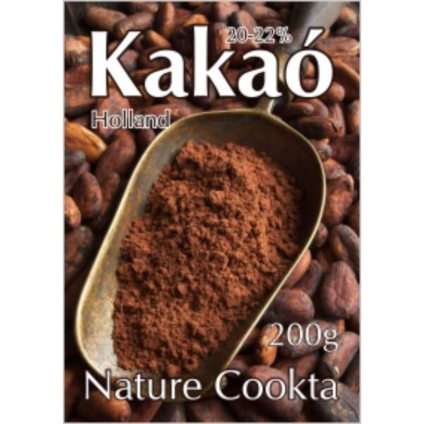 Holland kakaópor 20-22% 200 g - Nature Cookta