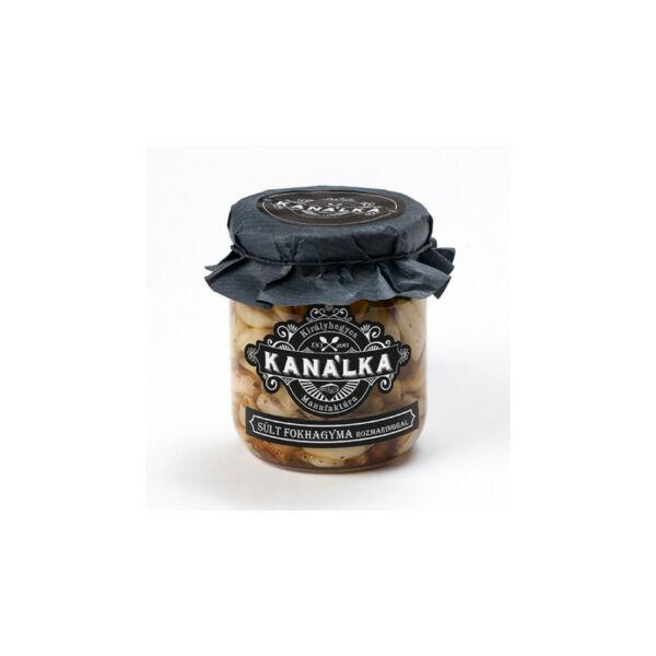 Sült fokhagyma rozmaringgal 195 g - Kanálka