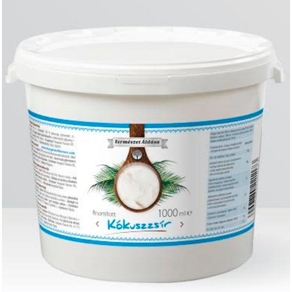 Kókuszolaj (kókuszzsír) 0,5 l - Természet Áldása