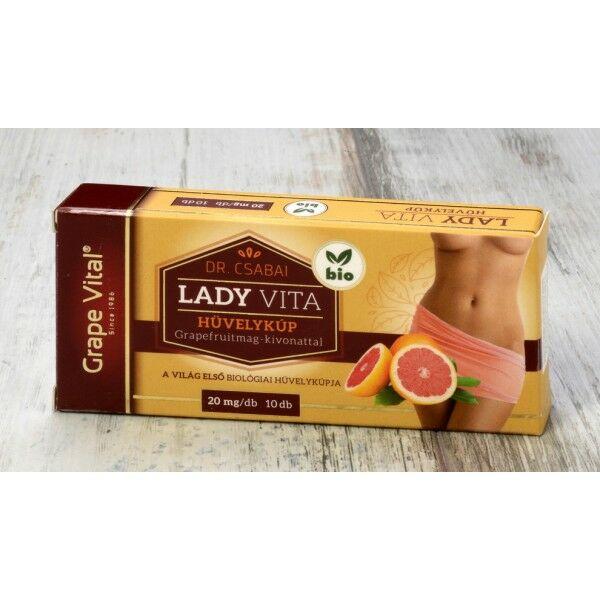 Ladyvita hüvelykúp 10*2g - Grape Vital