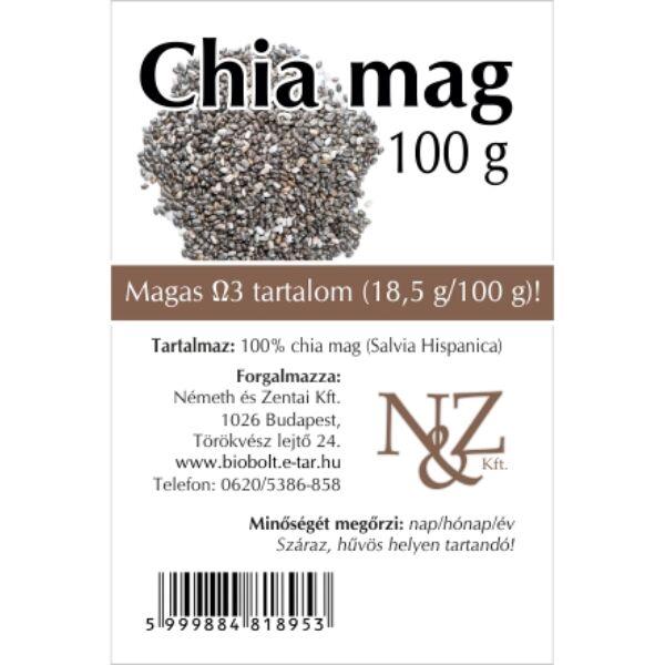 Chia mag 100 g - Németh és Zentai