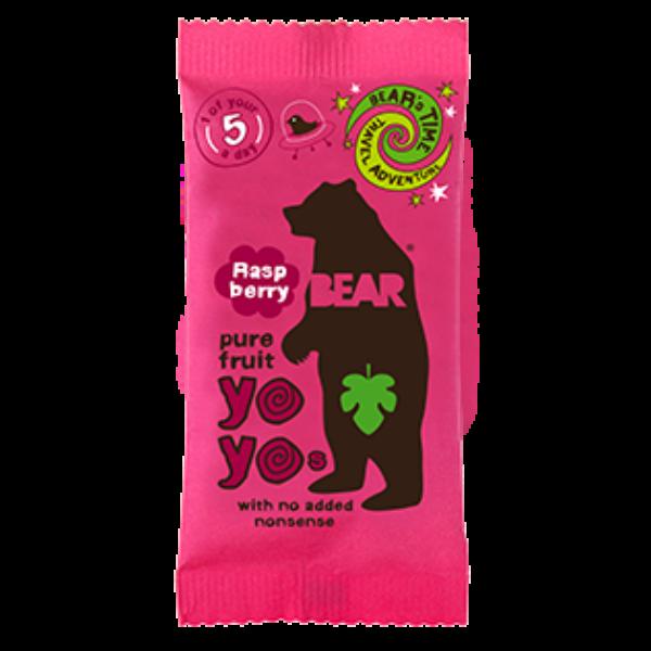 Bear yoyo málnás természetes gyümölcs tekercs 20 g