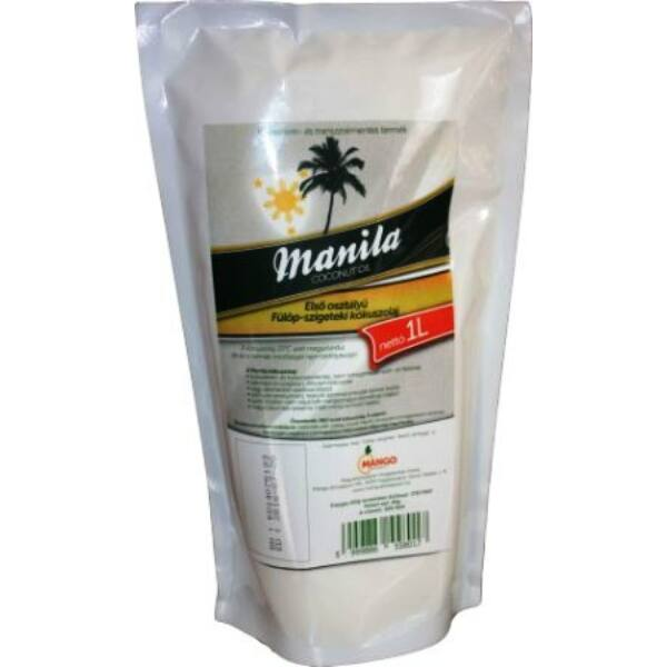 Kókuszolaj prémium 1000 ml - Manila