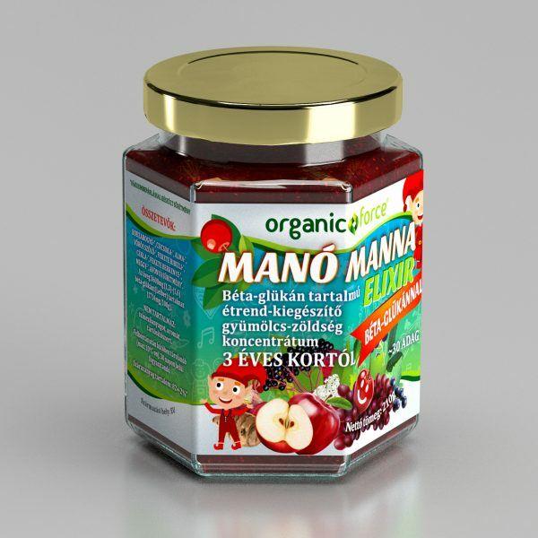 Manó manna elixír 3 éves kortól