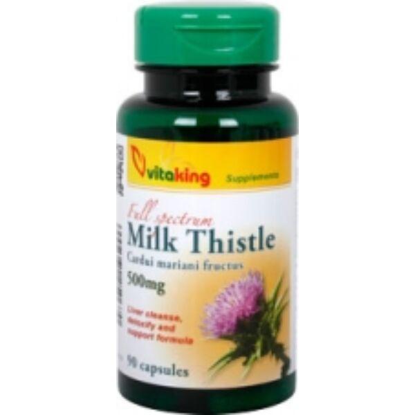 Máriatövis kapszula 500 mg 90 db - Vitaking