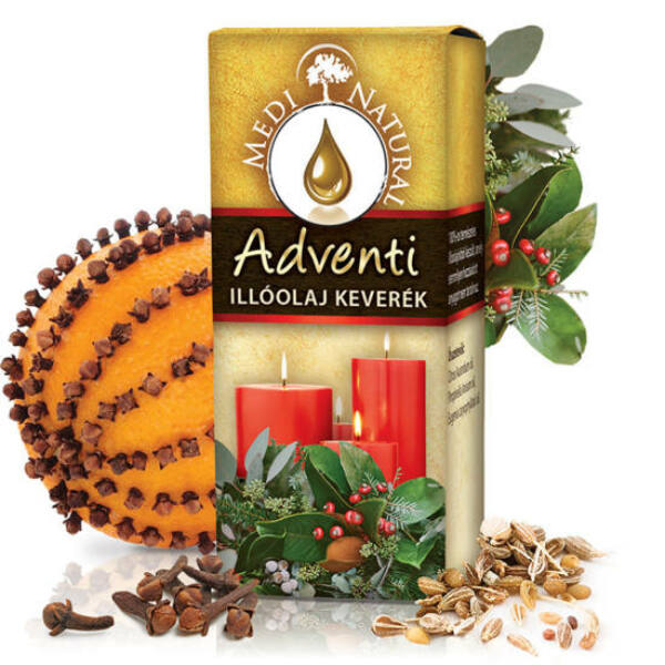 Adventi illóolajkeverék 10 ml - Medinatural