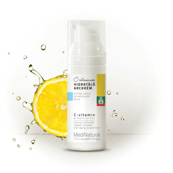 Anti-Aging   C-vitaminos hidratáló arckrém 50 ml - Medinatural