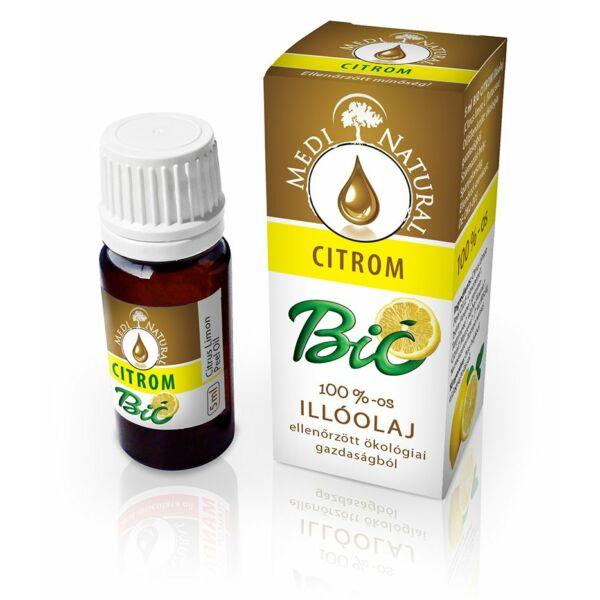 BIO Citrom illóolaj 5 ml - Medinatural