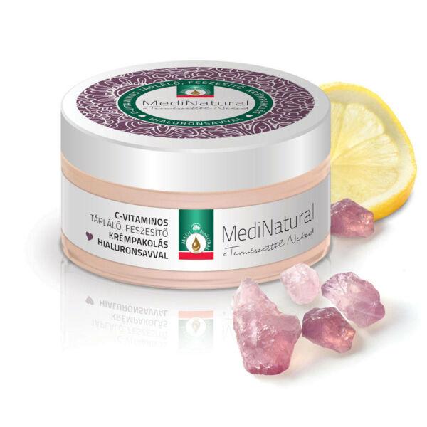 Krémpakolás C vitaminos tápláló, feszesítő, hialuronsavval 100 ml - Medinatural