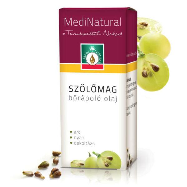 Szőlőmag bőrápoló olaj 20 ml - Medinatural