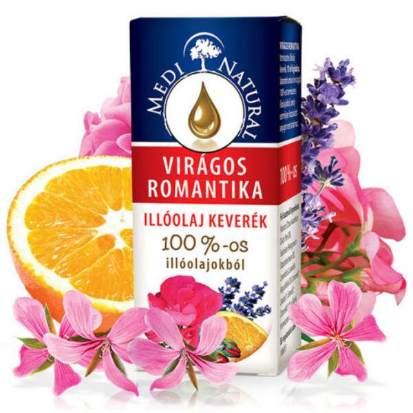 Virágos romantika illóolajkeverék 10 ml - Medinatural