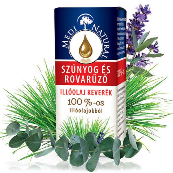 Szúnyog- és rovarűző illóolajkeverék 10 ml - Medinatural