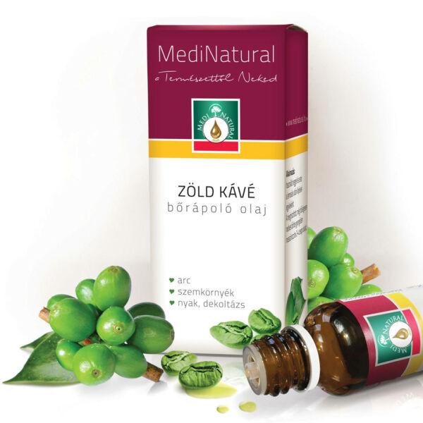 Zöld kávé bőrápoló olaj 20 ml - Medinatural
