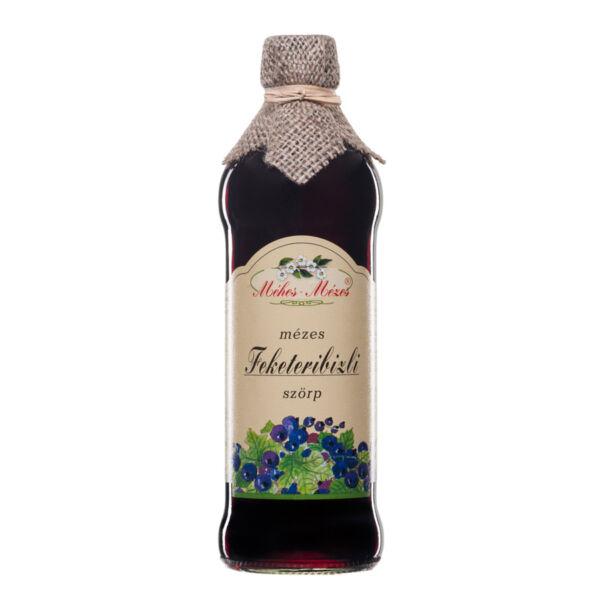 Feketeribizli szörp 500 ml - Méhes Mézes