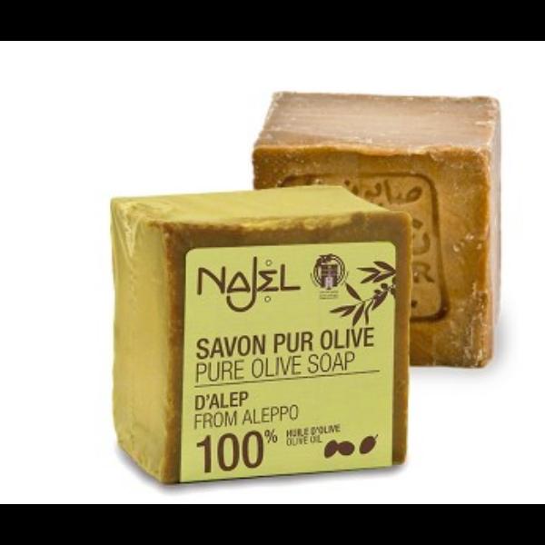 Szíriai oliva színszappan 100% olivaolajjal 200 g - Najel