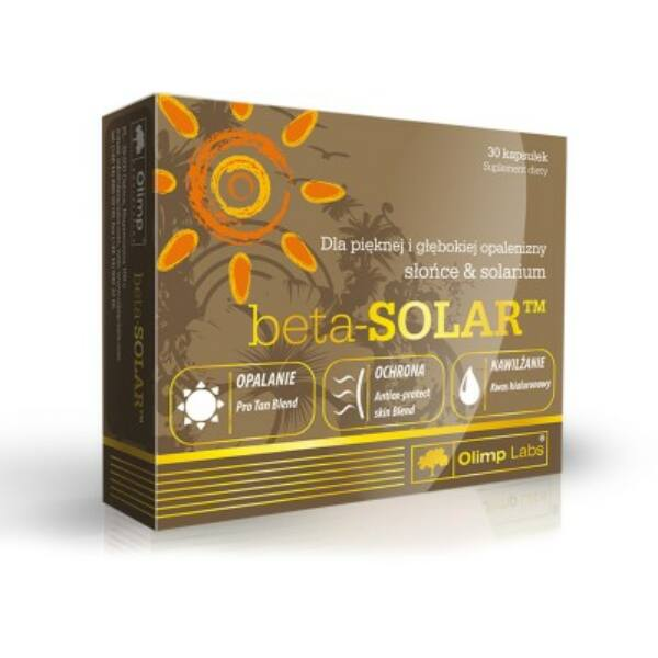 Napozóvitamin beta SOLAR 30 kapszula -  Olimp Labs