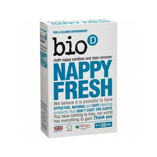 NappyFresh antibakteriális pelenkafertőtlenítő adalék 500 g - Bio-D