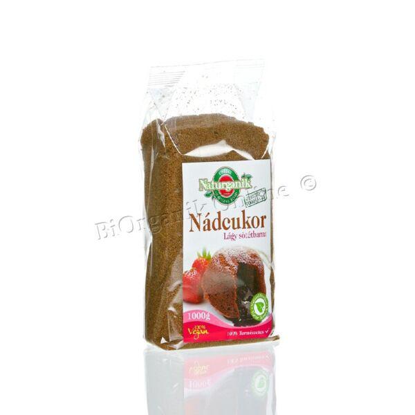 Nádcukor lágy sötétbarna 1 kg - Naturganik