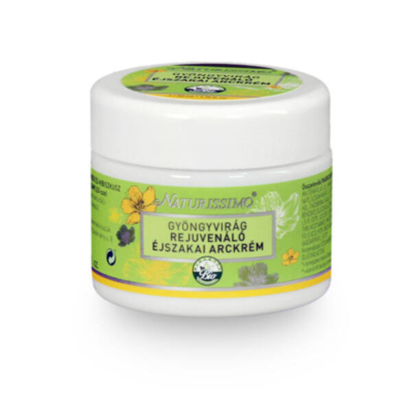 Gyöngyvirág éjszakai arckrém 50 ml - Naturissimo
