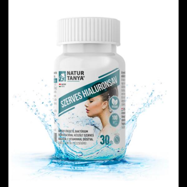Natur Tanya® Hialuronsav 100 mg tabletta 30 db