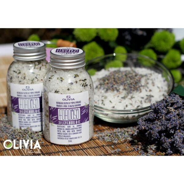 Fürdősó levendula 250 ml - Olivia
