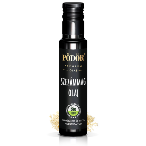 Prémium szezámmagolaj bio 100 ml - Pödör