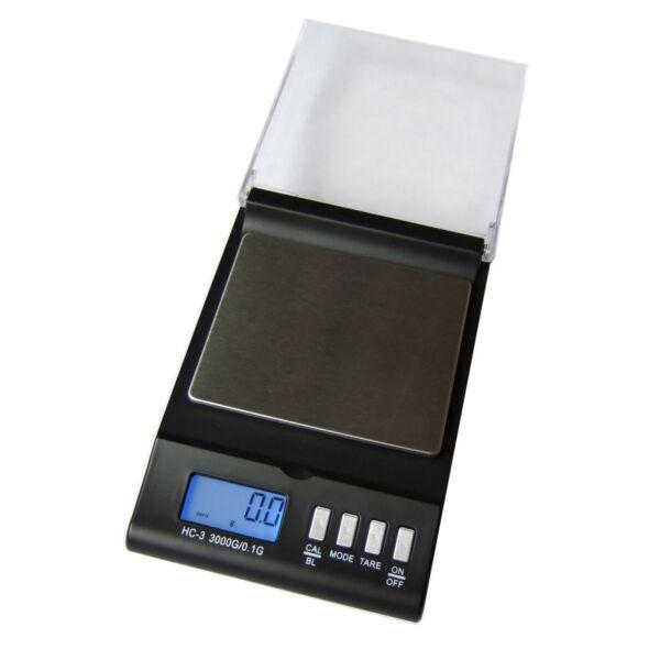 Digitális precíziós mérleg (3000g/0,1g)