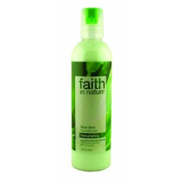 Bio aloe vera hajkondicionáló - Faith in Nature (250ml)
