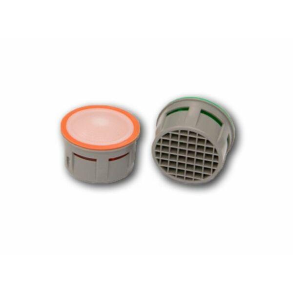 Víztakarékos perlátor (belső rész) 5 l/perc - okkersárga