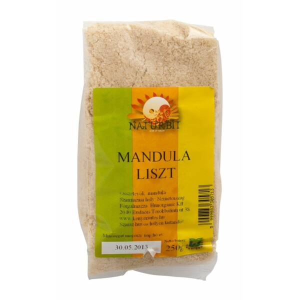 Mandula liszt 250 g - Naturbit