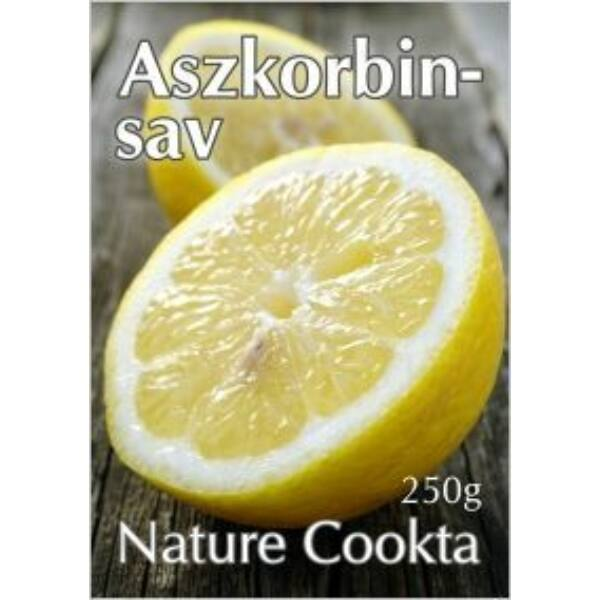 Aszkorbinsav 250 g - Nature Cookta
