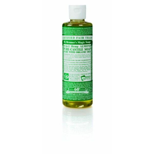 Folyékony szappan és tusfürdő mandula bio 240 ml - Dr. Bronners