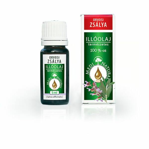 Orvosi zsálya illóolaj 5 ml - Medinatural