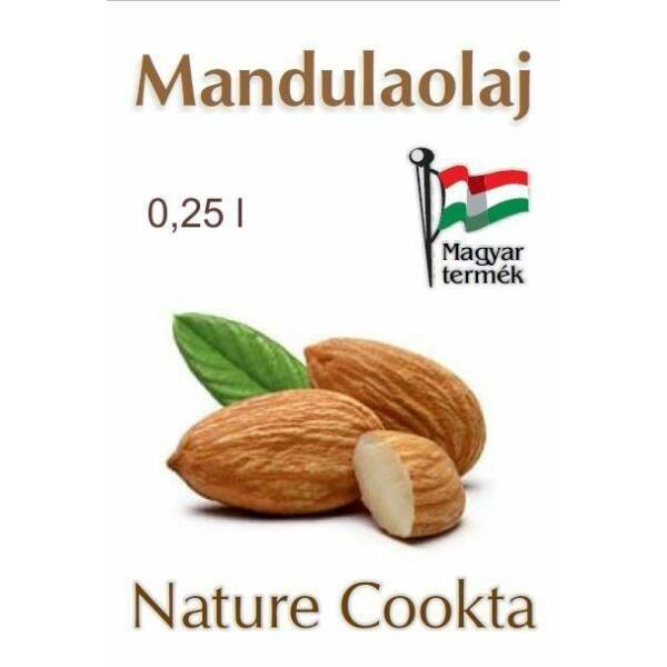 Mandulaolaj 250 ml - Nature Cookta