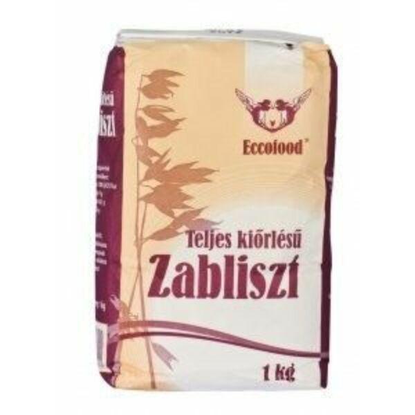Eccofood Zabliszt teljes kiőrlésű 1000 g, lejárat:2018/08/22