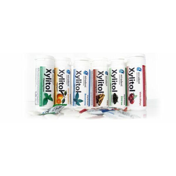 Borsmenta rágógumi 30 db - Xylitol