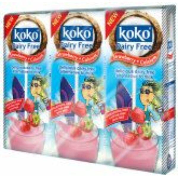 Kókusztej ital epres 250 ml - Koko