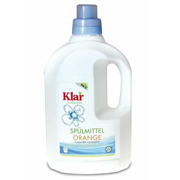 Klar narancsolajos kézi mosogatószer koncentrátum 1500 ml