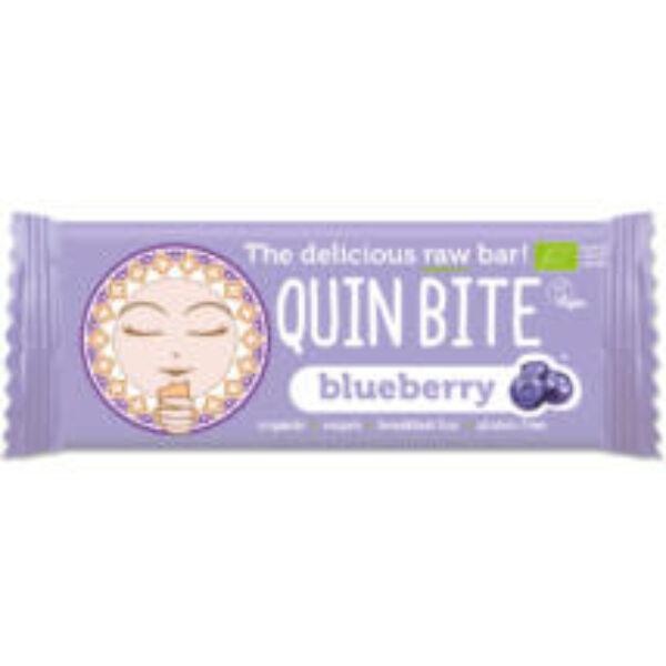 Quin Bite bio nyers szelet áfonya 30 g