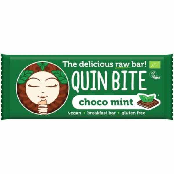Quin Bite bio nyers szelet csoki-menta 30 g