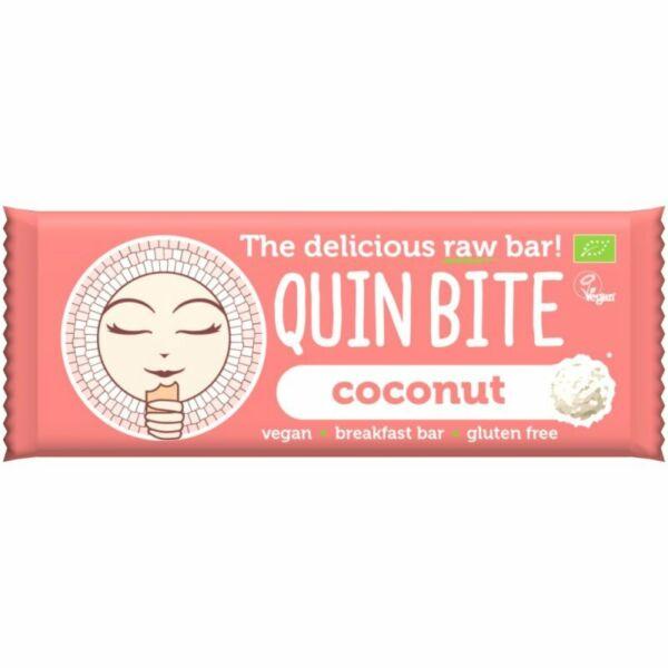 Quin Bite bio nyers szelet kókusz 30 g