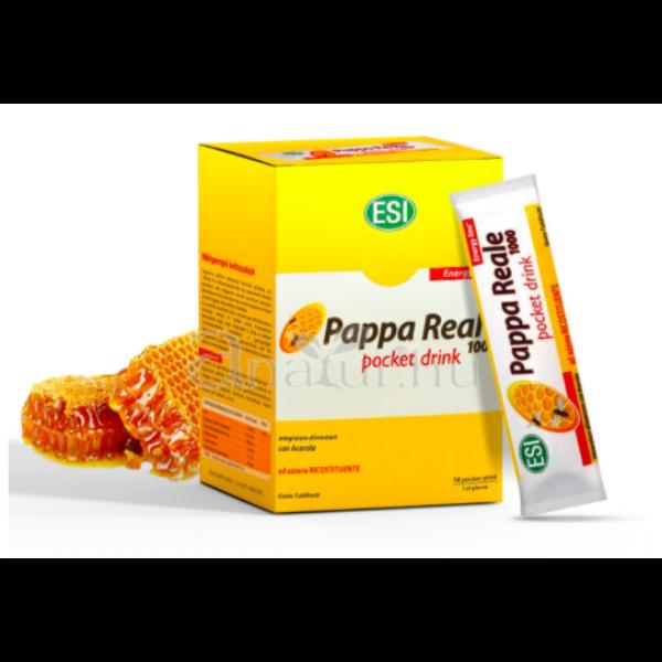 Royal Jelly – 1000 mg-os Méhpempő ivótasakok 16 db