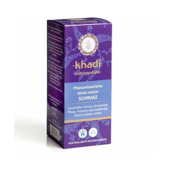 Hajfesték por kékesfekete 100 g - Khadi