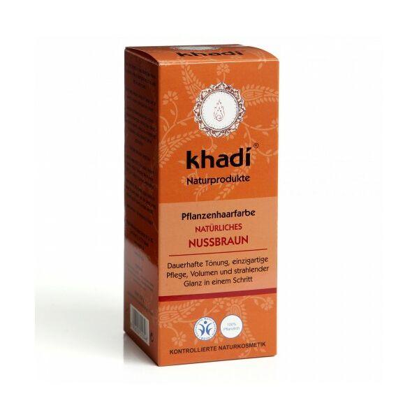 Hajfesték por mogyoróbarna 100 g - Khadi