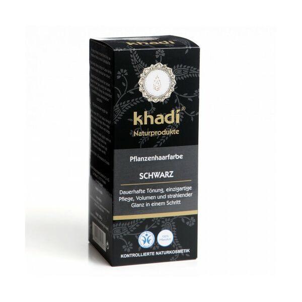 Hajfesték por fekete (schwarz) 100 g - Khadi
