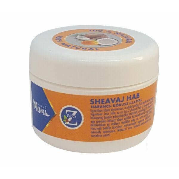 Sheavaj hab narancs-kókusz illattal 100 ml - EcoZ