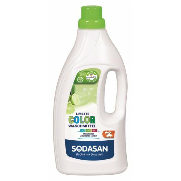 Folyékony mosószer Color limette bio 1,5 l - Sodasan