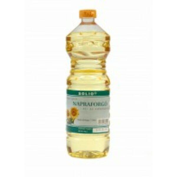 Napraforgó olaj hidegen sajtolt 1000 ml - Solio